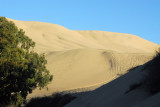 Giant sand dunes, Huacachina, Peru