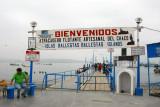 Islas Ballestas pier - Paracas
