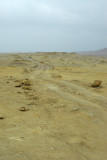 Rugged track, Paracas National Reserve