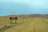 Road to Playa la Mina, Reserva Nacional de Paracas