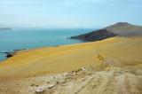 Road to Playa la Mina, Paracas National Reserve