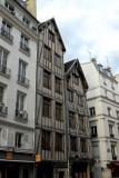 Medieval houses on Rue François Miron, Paris - 4th Arrondissement