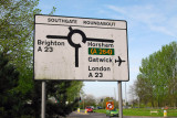 Cycling from Crawley, near Gatwick Airport, to Brighton