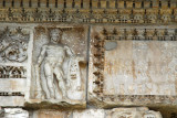 Arcus Argentariorum - Arch of the Money-Changers with a bas relief of Hercules, 204 AD