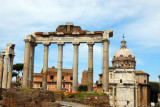 Temple of Saturn, the oldest surviving structure on the Roman Forum (501-498 BC)