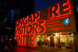 Singapore Visitors Centre, Orchard Road, at night