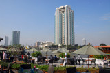 The Peninsula Hotel, Bangkok, from the terrace of the Oriental Hotel