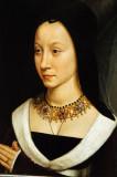 Maria Portinari portrait by Hans Memling, ca 1470