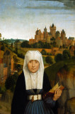 St. Anne by Hand Memling, ca 1470