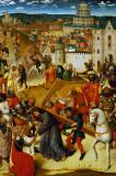 Christ Bearing the Cross, Utrecht ca 1470