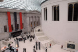 Great Court with the circular British Museum Reading Room