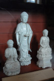 Chinese porcelin figures of Chinese gods