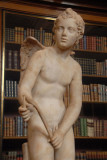 Restored 2nd C. AD Roman statue of Cupid stringing his bow