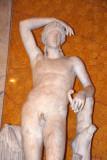 Ancient Dionysus statue restored as Apollo by Carlo Albacini in the 18th C.