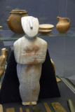 Marble figurine of a woman (early Spedos type) Cycladic ca 2700 BC