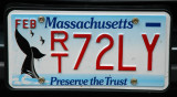 Massachusetts license plate - Preserve the Trust (whales)