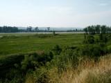 Verdant banks of the Upper Missouri River at Fort Union