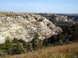 Bentonitic Clay Overlook, Theodore Roosevelt National Park, North Unit