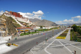 The Chinese renamed the main boulevard through central Lhasa Beijing Zhonglu