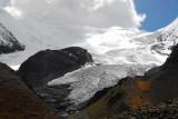 Kaluxung icefall and glacier  (姜桑拉姆冰川)