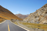 The Friendship highway decending to the next  valley