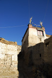 Exploring the back alleys of old town Gyantse