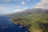 Looking west back along the south coast of Maui