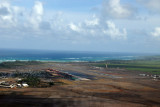 On approach to Maui's Kahului Airport