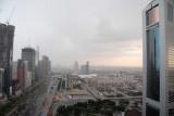 Rain on Sheikh Zayed Road, Dubai