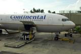 Continental Boeing 767, HNL