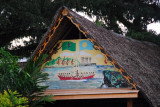 Another thatched meeting house (Bai) in Koror