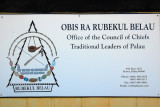 Obis Ra Rubekul Belau - Office of the Council of Chiefs, Traditional Leaders of Palau, Malakal