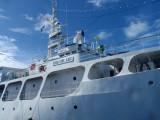 Big Blue Explorer, a live-aboard Filipino dive boat in Palau