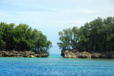 Islands at the Blue Hole/Blue Corner dive sites