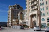 Al Marooj Rotana, on the far side of DIFC