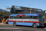 Old Fox Glacier Guiding bus