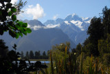 There is a nice 1 hour hike around Lake Matheson
