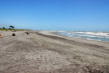Tasman Sea beach at Hokitika