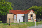 Old wooden house, Arthur's Pass road
