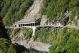 Avalanche/Rock Slide gallery, Arthur's Pass