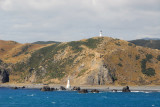 Pencarrow Head at the entrance to Wellington Harbour