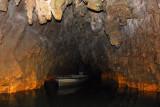 Exit of Waitomo Glowworm Cave boat ride
