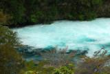 Raging river leading to Huka Falls