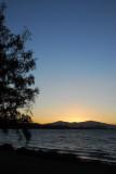 Sunset, Lake Taupo