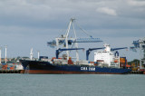CMA CGM Manet, Port of Auckland