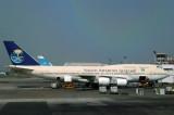 Saudi Arabian Airlines Boeing 747-300 (TF-ATJ) Dhaka, Bangladesh