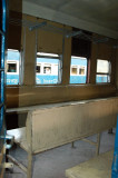 Interior of a Bangladeshi train, hard class