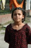 Girl in Dhaka near the Three Leaders' Mausoleum