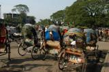 Rickshaws near the old Ramna Gate