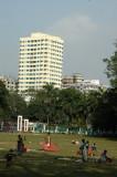Jatiyo Eid Gah Math - field where Bangladeshis gather on the Muslim holidays Eid al Fitr and Eid al Adha
